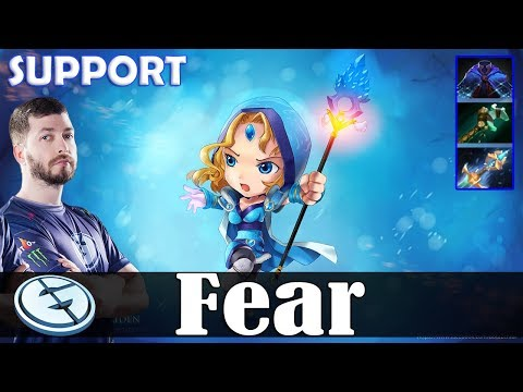 Fear - Crystal Maiden Roaming | SUPPORT | 7.07 Update Patch Dota 2 Pro MMR  Gameplay