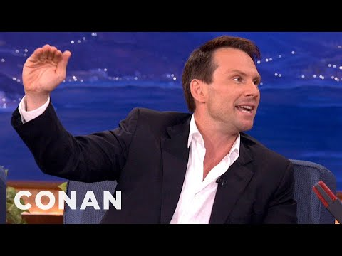 Christian Slater's 1000% True Skydiving Story  CONAN on TBS