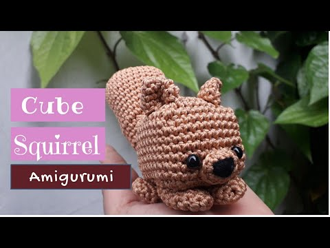 Acorn the (Crochet Amigurumi) Squirrel - I Like Crochet | 360x480