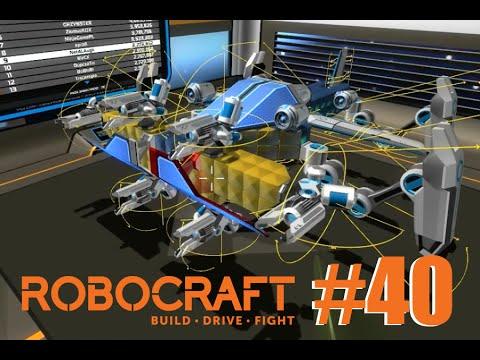 RoboCraft #40 - Flyer With Legs v. 2.0 , Boss Battle ...