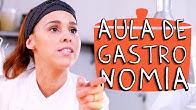 AULA DE GASTRONOMIA