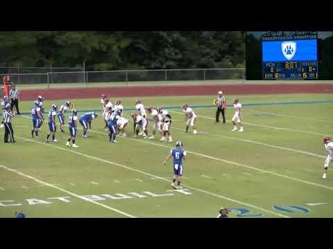 Corrected Escambia Academy vs Presbyterian Christian 8/23/19 HD