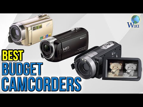 6 Best Budget Camcorders 2017