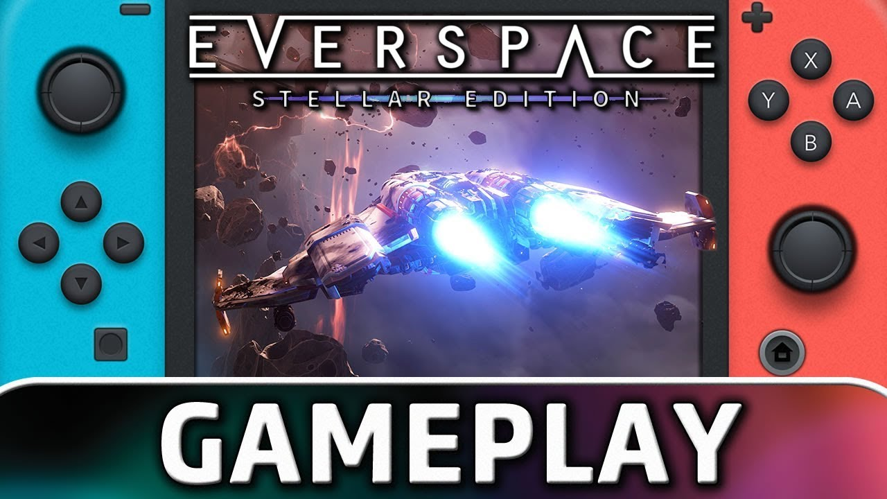 everspace stellar edition ps4 gameplay
