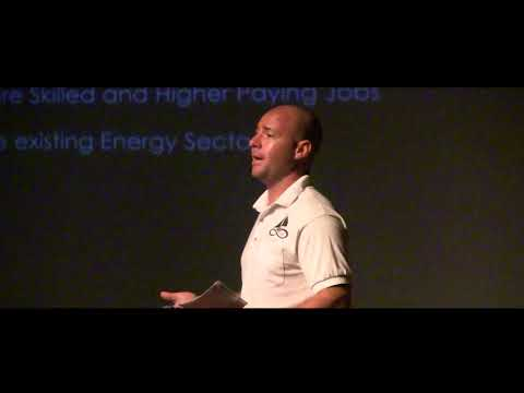 Renewable energy in the BVI | Dana Miller | TEDxTortola