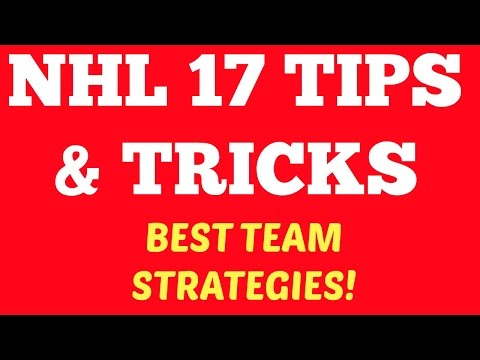 NHL 17 Tips & Tricks: BEST Team Strategies & Settings for HUT!