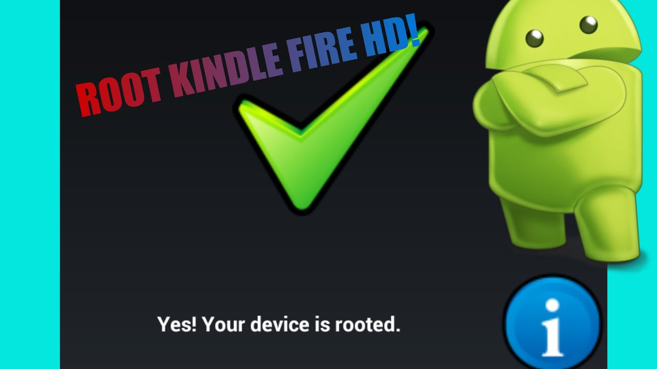 Root Kindle Fire Hd 7 7 5 1 No Without Computer Easy Youtube
