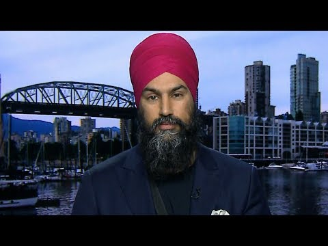 Jagmeet Singh says pipeline dispute 'is going to be resolved in court'