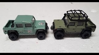 Hot Wheels Custom Land Rover Build!