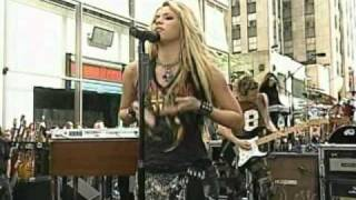 Shakira - Whenever Wherever live @ today show New York 2002