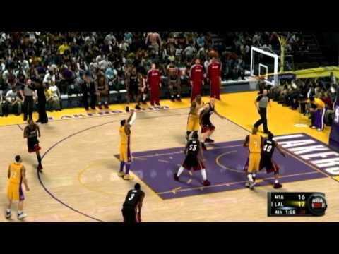 Los Angeles vs Miami Heat part 2