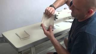 Dlouhoramenný šicí stroj