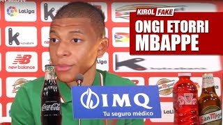 Kylian Mbappe ficha por el Athletic