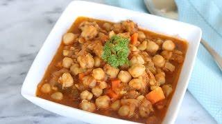 Chickpeas Stew (Vegan Chickpeas Stew, Gluten-Free) - Episode 207