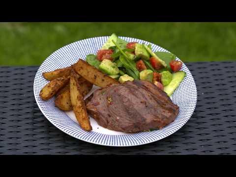 Easy BBQ Citrus Marinated Beef Steaks Recipe