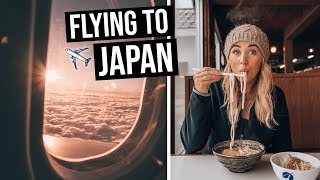 Flying from Australia to Japan on Qantas | LOTS of FLYING