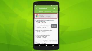 Брандмауэр Dr.Web для Android: настройка виджета контроля трафика
