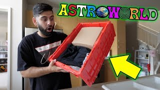 OMG FIRST EVER TRAVIS SCOTT MYSTERY BOX!! *HYPED UNBOXING*