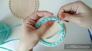 Уроки вязания крючком. Как обвязать деревянное донышко
