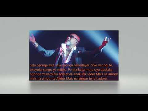 alidor  koffi olomidé   lyrics b  bv  v;ffvb  nnb !cds!§/z:ree!:t::!:g!:hg:!h: