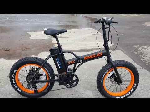 Fat Tire Folding Electric Bike Bicycle With Lithium Battery