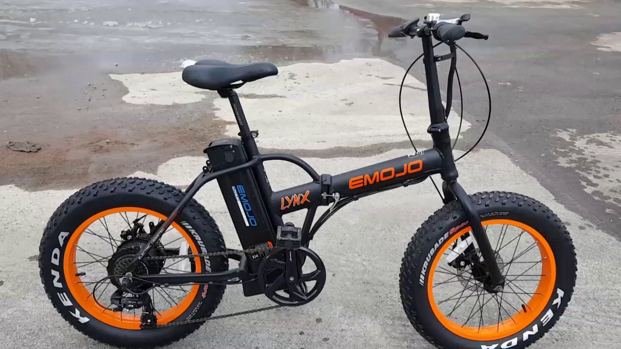 Fat Tire Folding Electric Bike Bicycle With Lithium Battery Youtube
