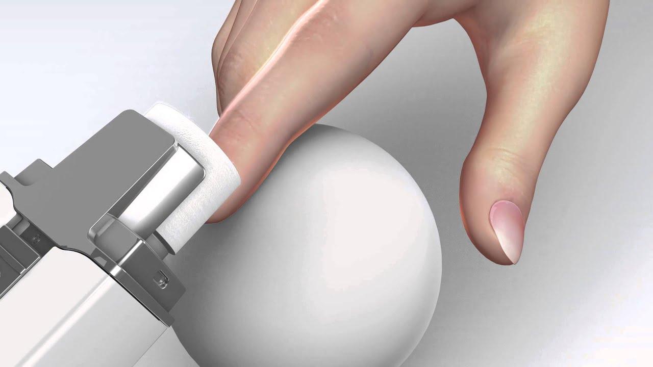 Silk\'n MicroNail - Enchanting electric nail polishing file - YouTube