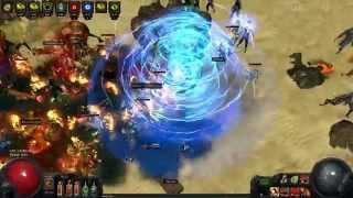 Path of Exile Highlight - Darkshrine league (DANKSHRINE) COMK discharger