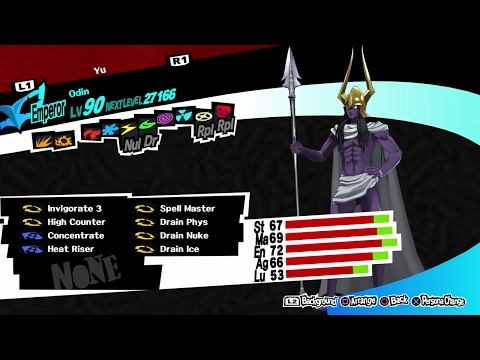 Persona 5 Preparation and Analysis of Caroline and Justine Boss Fight