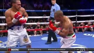 Keith Thurman-Leonard Bundu 2014-12-13 highligts