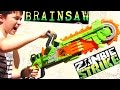NERF BRAIN SAW with Robert-Andre!