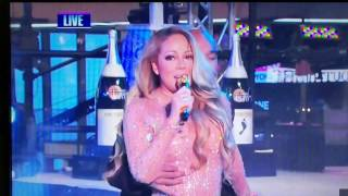 Mariah Carey completely bombs during her New Year's Eve performance in Times Square NY