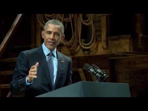 President Obama destroys Republicans over Climate Change!!