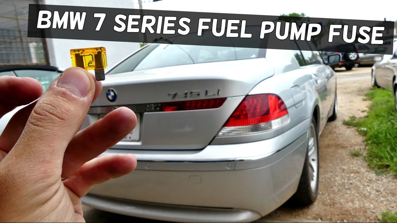 small resolution of bmw e65 e66 fuel pump fuse no start 745i 745li 750i 750li 730i 735i