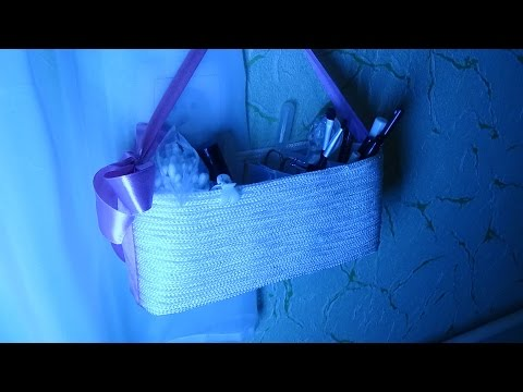 видео: diy  Органайзер из пластиковых бутылок. how to make organizer for cosmetics