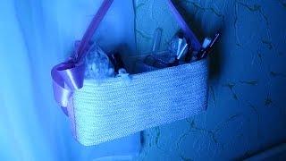 DIY  Органайзер из пластиковых бутылок. How to make organizer for cosmetics