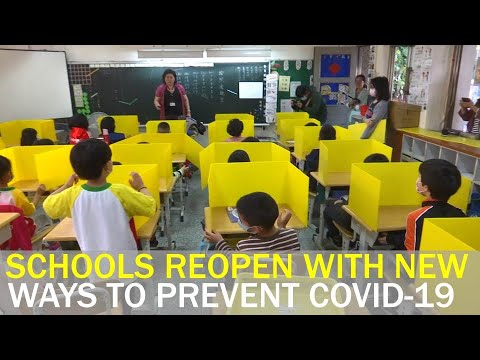 Schools Reopen With New Ways To Prevent COVID-19 Outbreak | Taiwan News | RTI