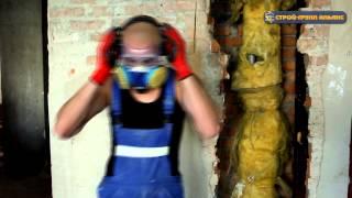 видео Демонтаж кирпичных стен самостоятельно