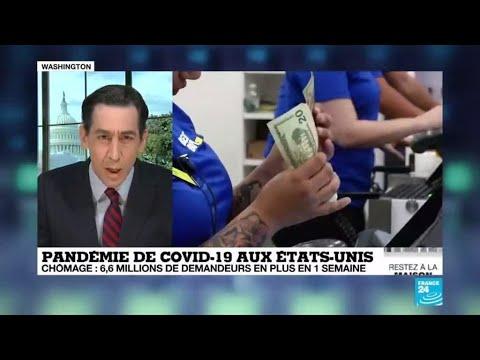 Coronavirus: Explosion du chômage aux États-Unis