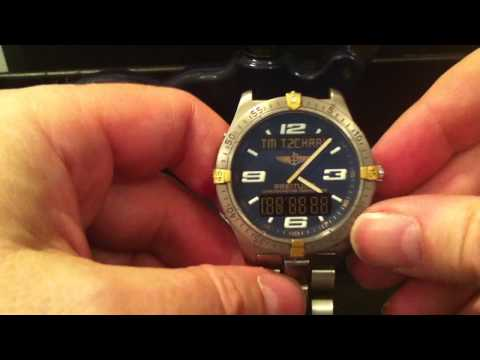 Breitling Aerospace 75362 Battery Change