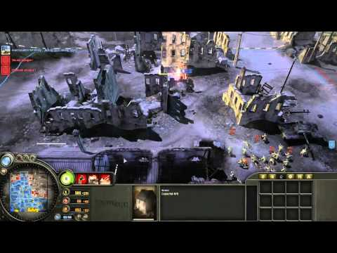 Company of heroes New Steam Version 4vs4 Onligne From Algeria Live Commente