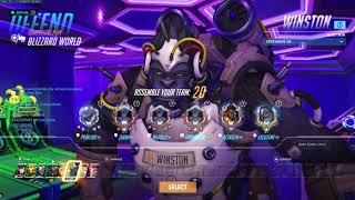 Overwatch Solo Queue- Every Shatter Needs To Matter Rein On Blizzard World