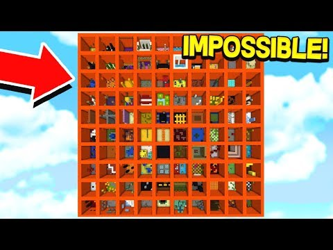 IT IS IMPOSSIBLE TO BEAT THIS PARKOUR MAP!