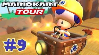 Mario Kart Tour: Trick Tour Part 9 - The Whole Tour Completed!!