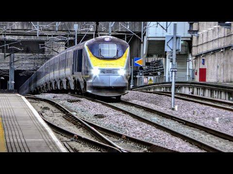 Trains At Stratford International | 11/01/2020