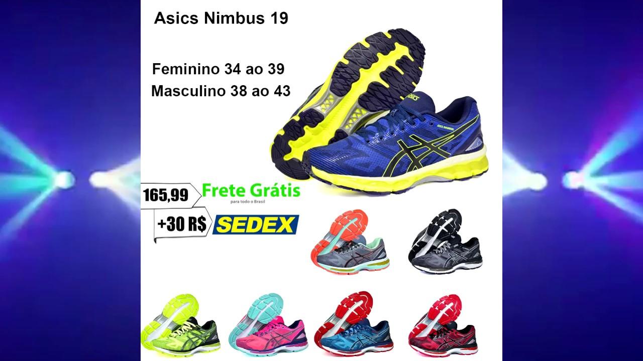 tenis asics feminino 38 19