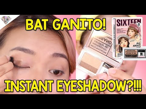 FTW?! TOTOO BA?! INSTANT EYESHADOW?! + First Impression Review K-beauty Products