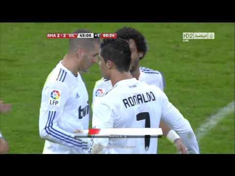 Real Madrid 2 Villarreal 2 1280x720 Romantic Boy Kooora com   YouTube