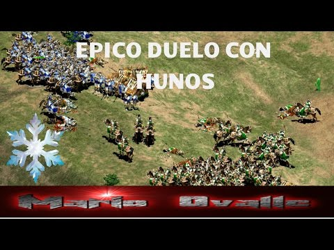 THE VIPER VS NICOV UNA REVANCHA MUY EPICA, HUNS AL MAXIMO AGE OF EMPIRES 2