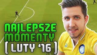 MOJE NAJLEPSZE MOMENTY W FIFA 16 [luty 2016] | Futbolove